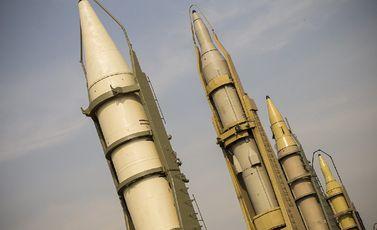 صواريخ بالستية إيران- جيتي