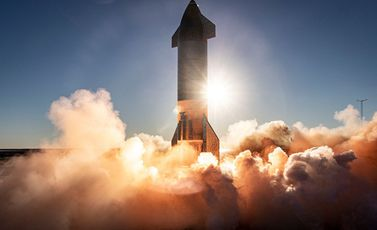 صاروخ سبايس إكس - موقع الشركة