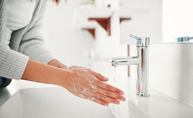 غسل غسيل اليدين