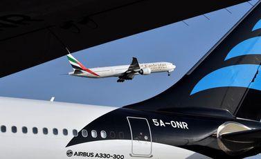 طيران الإمارات - جيتي
