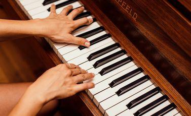 بيانو موسيقى coo