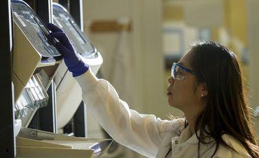فحص مختبر  فيروس كورونا - cc0