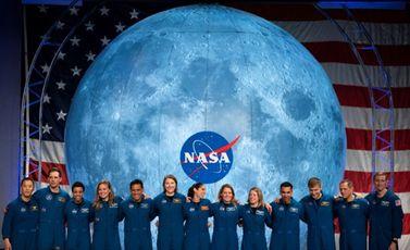 صورة مؤرخة في 10 كانون الثاني/يناير 2020 تظهر رواد فضاء من ناسا في تكساس