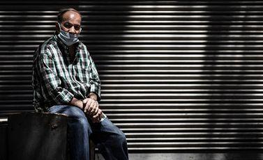 مصر كورونا مواطن محل مغلق- جيتي