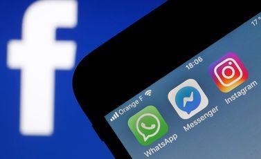 فيسبوك واتسب انستغرام- جيتي