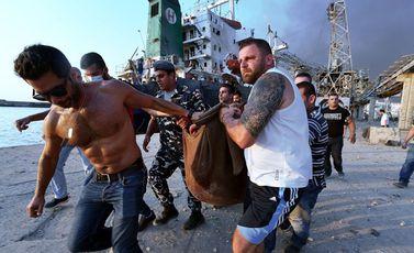 ضحايا مرفأ بيروت- جيتي