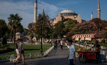 آيا صوفيا تركيا إسطنبول - جيتي