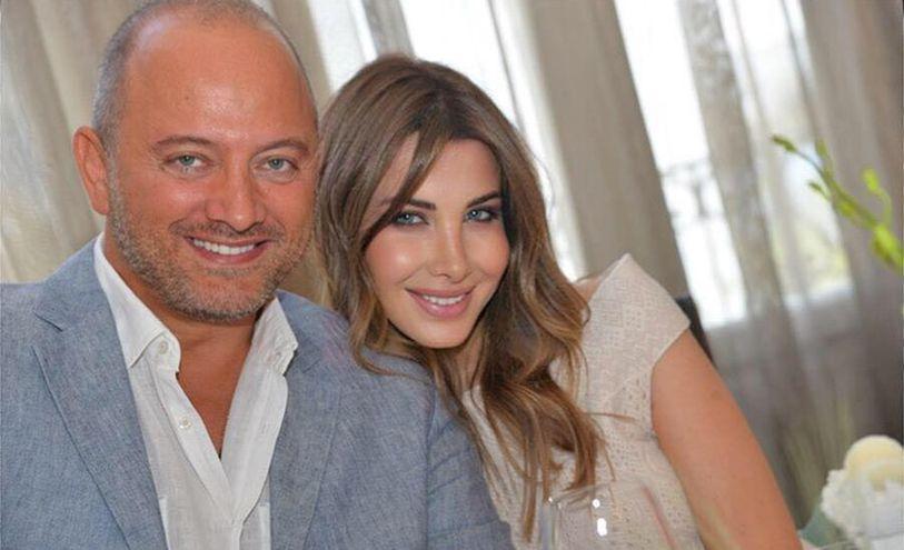 نانسي عجرم وزوجها- صفحتها عبر فيسبوك